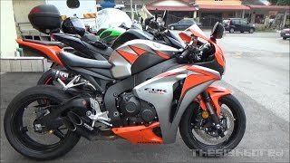 getlinkyoutube.com-Honda CBR1000RR Toce exhaust