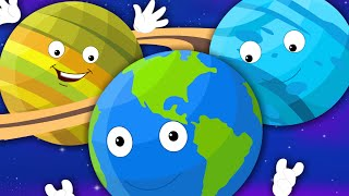 getlinkyoutube.com-Nursery Rhymes From Oh My Genius - Planets Song For Children | Nursery Rhymes With Lyrics For Kids