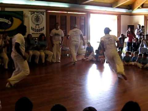 Mestre Bocoio, Professor Fabinho, Mestre Borracha at Mestre Kinha's batizado, Capoeira Besouro