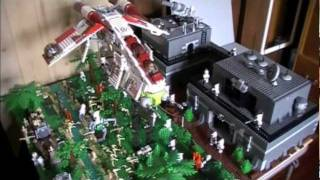 getlinkyoutube.com-LEGO Star Wars Clone Base On Alderaan