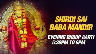 Sai Baba Aarti - Sunset 5:30 pm Live feel Prayer Sai Aarti by Shirdi Mandir Pujari Pramod Medhi