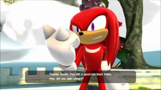 getlinkyoutube.com-Sonic Generations Cutscene - Saving Knuckles [HD] (Classic)