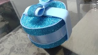getlinkyoutube.com-caixa para lembrancinha usando garrafa pet e eva,foami,microporoso,goma eva DIY