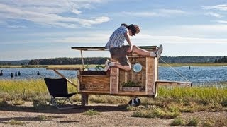 getlinkyoutube.com-The BEST Tiny House/DIY Shelter Books- With Cabin Photos....
