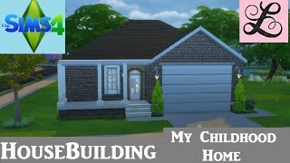 getlinkyoutube.com-The Sims 4: House Building - My Childhood Home