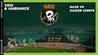 getlinkyoutube.com-GREEN BOYS 05 - CL - Raja.C.A vs Kaizer Chiefs : Ambiance Curva Sud Casablanca