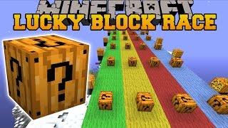 getlinkyoutube.com-Minecraft: SPOOKAY HALLOWEEN LUCKY BLOCK RACE - Lucky Block Mod - Modded Mini-Game