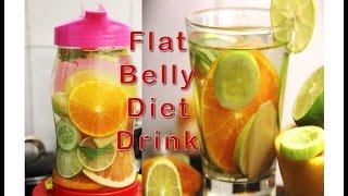 सिर्फ 3 दिन में पाएं FLAT BELLY | FLAT BELLY Magical Detox Water in just 3 days | Weight loss Drink