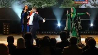 """getlinkyoutube.com-Кадыров исполняет лезгинку на открытии """"Грозный-сити"""""""