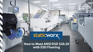 Meet ANSI/ESD S20.20 With ESD Flooring