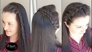 getlinkyoutube.com-Diademas con trenzas (3 opciones!) - Three headband braids! | Marce DIY