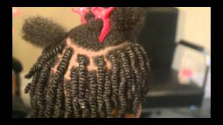Tangles and Beyond Mini Twists w/ Shea Buttercreme on 4b/4c Natural Hair