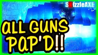 getlinkyoutube.com-ALL GUNS PACK A PUNCH IN ONE GAME in Der Eisendrache (Black Ops 3 Zombies All Guns & Weapons Pack)