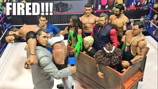 getlinkyoutube.com-GTS WRESTLING: Fired Forever Match! WWE Mattel Figure Animation PPV!
