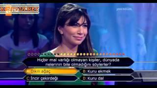 Kim milyoner olmak ister 230. bölüm 2. yarışmacı 03.06.2013