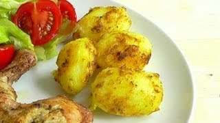getlinkyoutube.com-Indian Spiced Roast Potatoes How to Make recipe