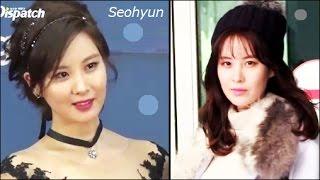 getlinkyoutube.com-[1080p] 161107,08 [SNSD] Seohyun / Red Carpet & Incheon Airport