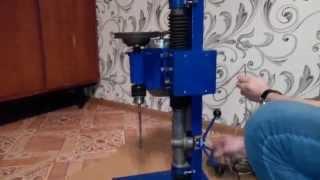getlinkyoutube.com-Самодельный сверлильный станок / Homemade drill press