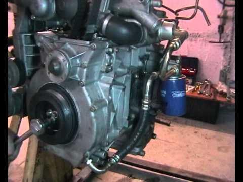 "Двигатель ГАЗ-560 ""Steyr"", установка ремня ГРМ"