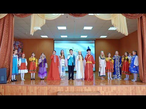 Гимназисты исполнили гимн ко «Дню народного единства»