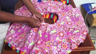 getlinkyoutube.com-How to make a Circle Skirt for girls