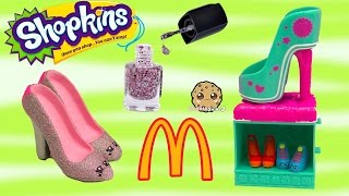 getlinkyoutube.com-DIY Nail Polish Custom Shopkins Season 3 Mcdonalds Happy Meal Exclusive Toy Easy Craft Video
