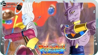 getlinkyoutube.com-Beerus (Bills) and Whis EX FUSION: Beerusis VS Black Goku SSJ White Dragon Ball Super Fusions