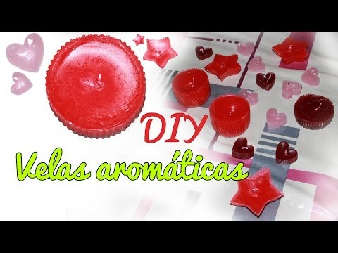 Velas aromáticas caseras - Velas DIY (Manualidades Fáciles)