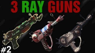 getlinkyoutube.com-3 Ray Guns - Black Ops 2 Zombies Buried Tutorial #2 - Triple Ray Gun Wallbuy