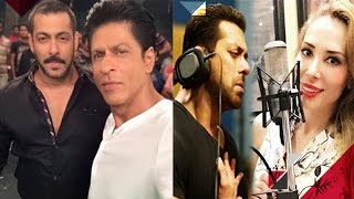 getlinkyoutube.com-Salman & Shah Rukh Khan To Co-Host An Award Show   Salman To Sing A Song For Iulia's Album
