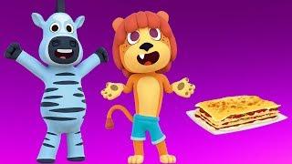 Cena en el Zoo - Las Canciones del Zoo 2 | El Reino Infantil