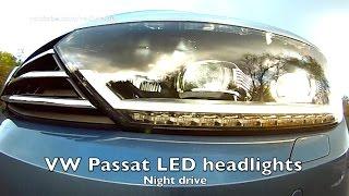 getlinkyoutube.com-2015 VW PASSAT LED test