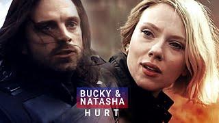 bucky & natasha ✗ I will make you hurt