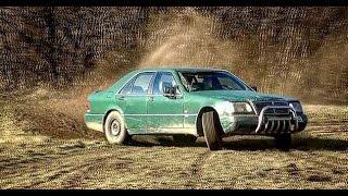 getlinkyoutube.com-Mercedes-Benz w140 off-road drift