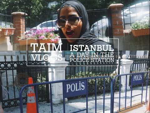يوم كامل في مركز الشرطة لكشف المتهم / ISTANBUL