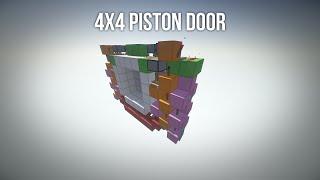 getlinkyoutube.com-[1.5+] TUTORIAL: 4x4 Piston Door [Fast | Synced | Compact | Cheap]