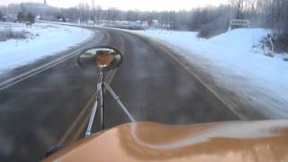 getlinkyoutube.com-2008 Bluebird Vision AM Drive to 1st Stop