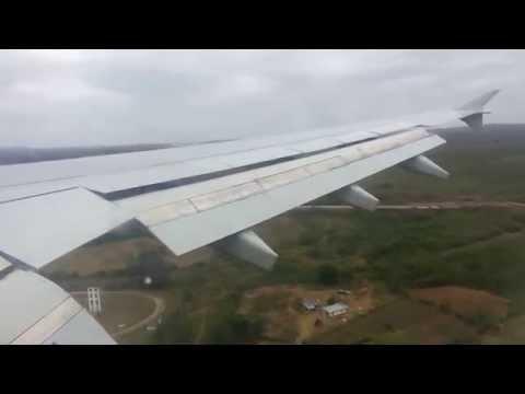 Air Transat A310 C-GLAT landing Santa Clara Cuba