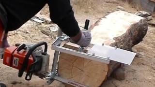 getlinkyoutube.com-MKIII, Small Log Mill and Mini Mill demo