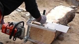 MKIII, Small Log Mill and Mini Mill demo