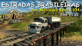 getlinkyoutube.com-Estradas Brasileiras no EAA com Mercedes Benz 1934 - Euro Truck Simulator 2