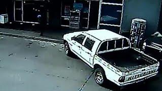 Registran balacera en asalto frustrado al interior de bencinera en Temuco - CHV Noticias