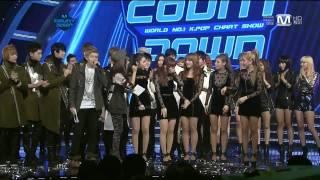 getlinkyoutube.com-111117 Wonder Girls Win M Countdown!