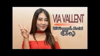 DITINGGAL RABI - VIA VALLEN Karaoke Dangdut