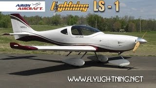 getlinkyoutube.com-Lightning LS 1, Arion Lightning LS1 light sport aircraft review. Part 1