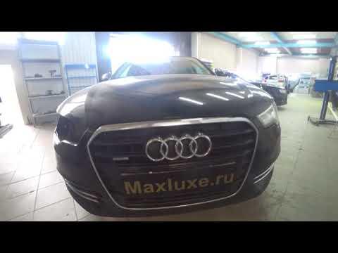 Audi A6 детейлинг фар new