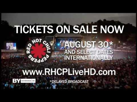 "Red Hot Chili Peppers - ""Live: I'm With You"" In Theaters [Official Trailer]"