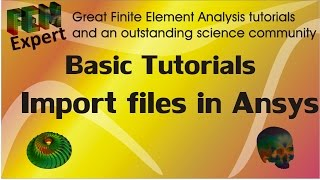 Tutorial: Import Files in Ansys