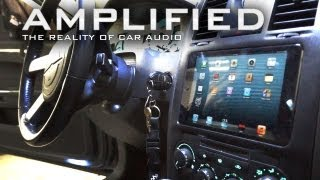 iPad mini Installed into the Dash of a Chrysler 300, FLOAT-MOUNT - Amplified #91