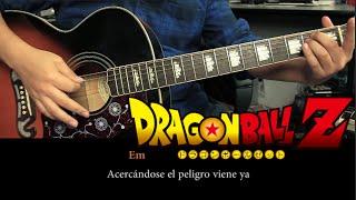 """getlinkyoutube.com-Como tocar """"El Poder Nuestro Es"""" de Dragon Ball Z - Tutorial Guitarra (HD)"""